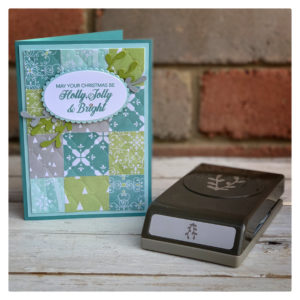 Mix and Match on Monday – Tufted Embossing Folder meets All is Calm DSP